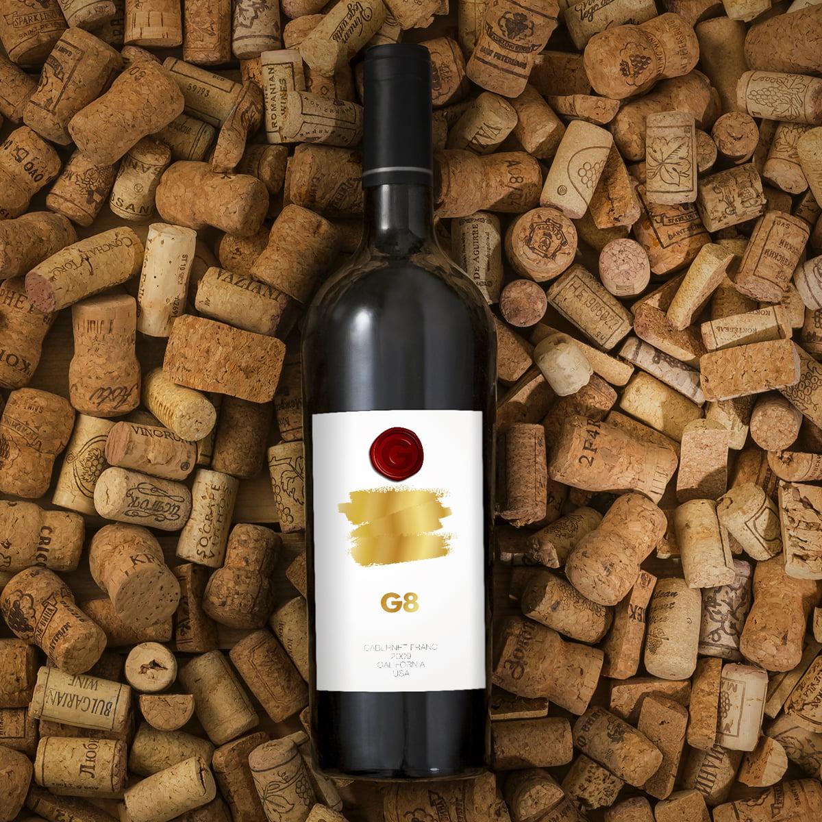 G8 Wine Label